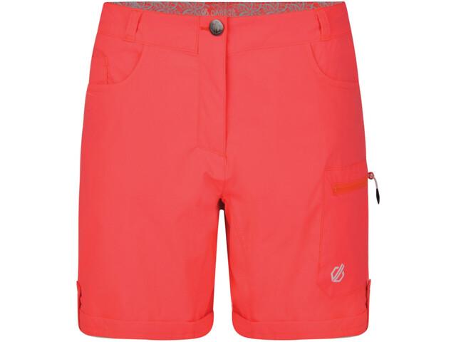 Dare 2b Melodic II Pantalones cortos Mujer, fiery coral